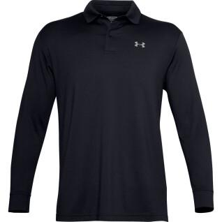 Polo Under Armour à manches longues performance textured