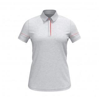 Poloshirt für Frauen Under Armour à manches courtes chiné Zinger