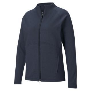 Damen-Pullover mit durchgehendem Reißverschluss Puma Cloudspun
