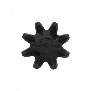 """Packung mit 18 Spikes Softspikes widow fixation """"q lock"""""""