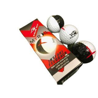 Packung mit 3 Bällen EyeLine Golf