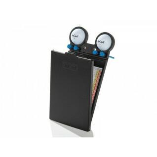 Kartenhalter für Elektrowagen aus Carbon JuCad