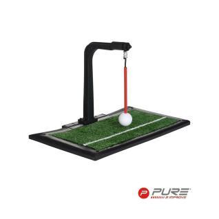 Schwungtrainer Indoor/Outdoor und Schlagmatte Pure2Improve