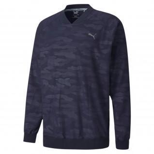 Sweatshirt Puma Golf Camo Wind